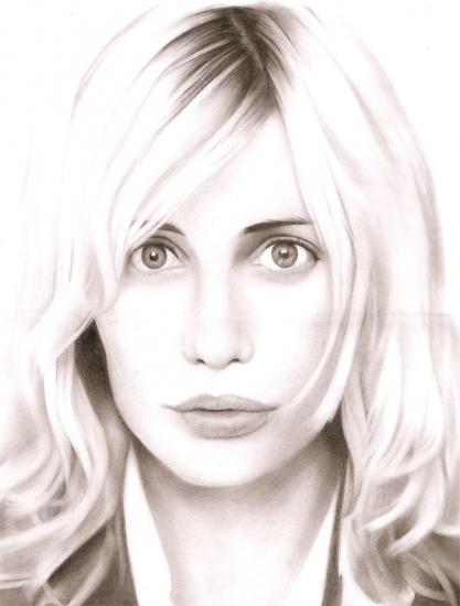Emmanuelle Béart por Stan